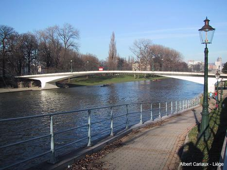 Mativa Footbridge, Liège