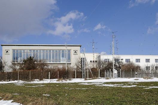 Nordmast Bisamberg, der Senderaum bleibt nach der Sprengung der Sendemasten als Museum erhalten