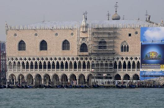 Dogenpalast gesehen von der Isola della Guidezza