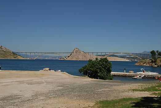 Brücken zur Insel Krk
