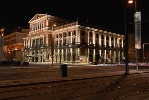 Musikvereinsgebäude, Vienne