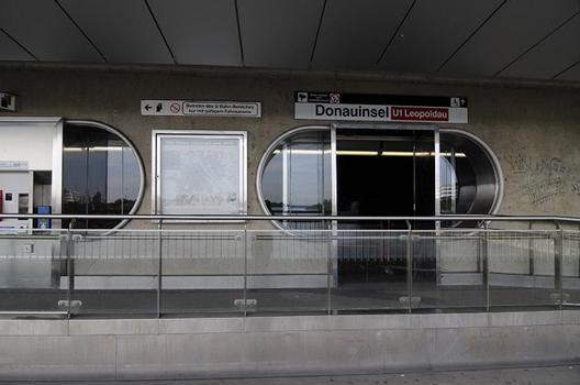 Ligne U 1 du métro de Vienne – Reichsbrücke