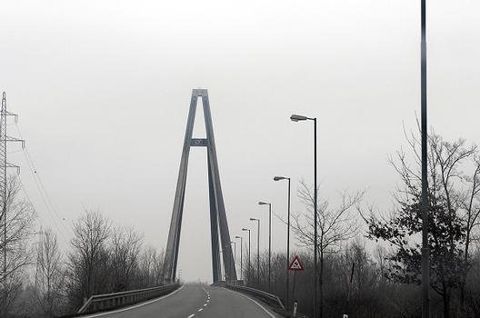 Rosenbrücke Überqueung von Nord nach Süd