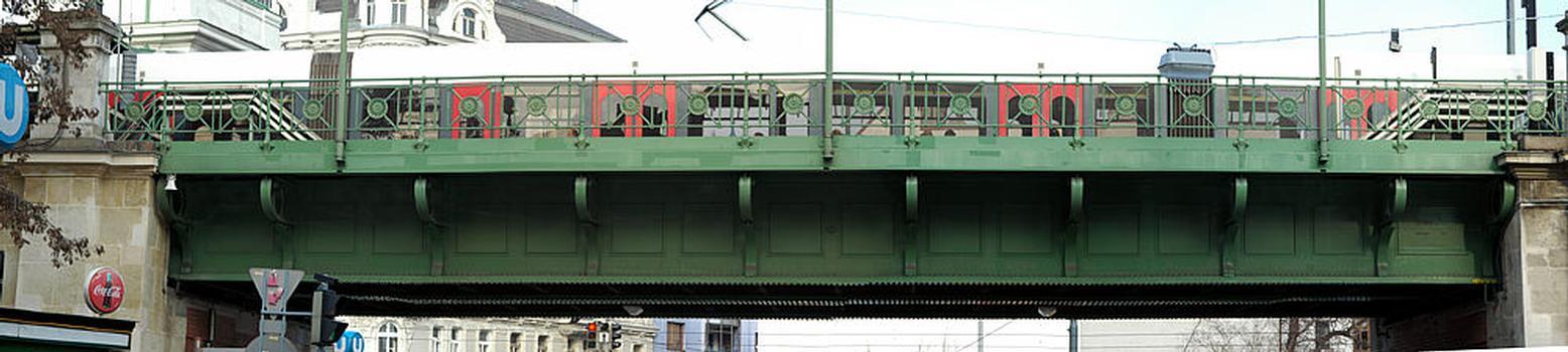 Pont sur la Gumpendorfer Strasse