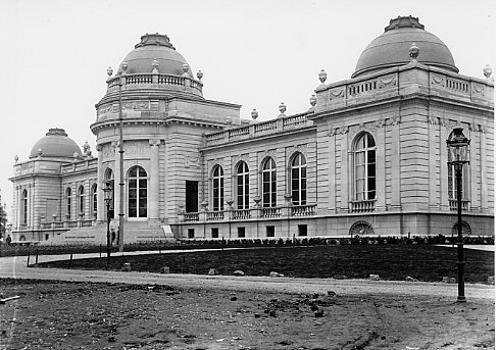 Foto des Palais des Beaux-Arts in Lüttich, Belgien