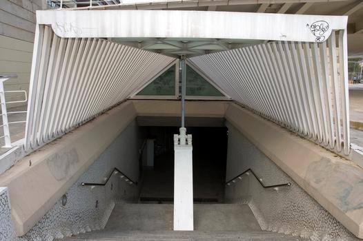 Alameda Metro Station, Valencia