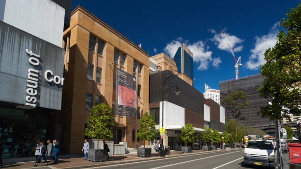 Museum of Contemporary Art Australia:Back of the main MSB building with modern additions