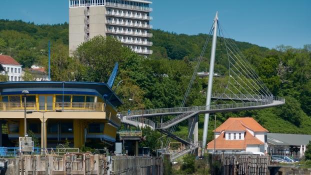 Fußgängerbrücke Sassnitz