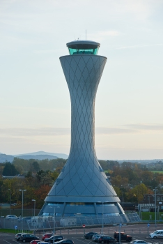 Flughafenkontrollturm Edinburgh