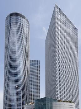 Azrieli Center Circular Tower – Azrieli Center Triangular Tower