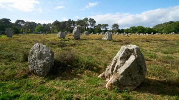 Steinreihen Le Ménec