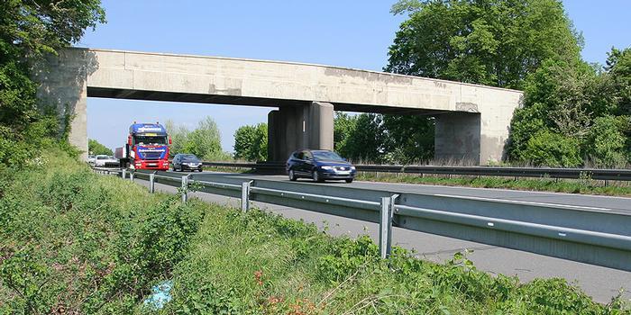 Autobahn A 67 - Überführung bei Allmendfeld