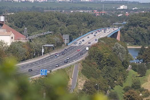 Rheinbrücke Mainz-Weisenau