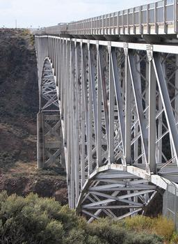 Taos Gorge Bridge, Pilar, New Mexico