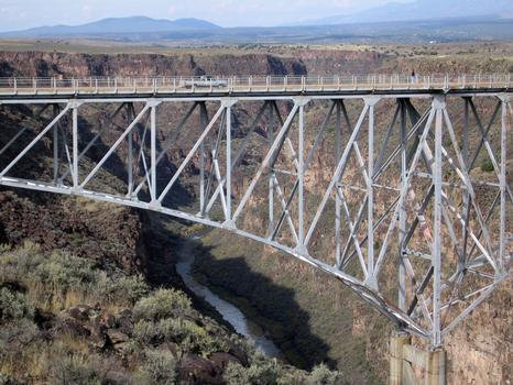 Taos Gorge Bridge, Pilar, New Mexico