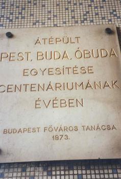 Tunnel de Buda, Budapest