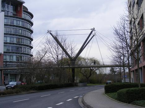 Passerelle sur le Hessenring, Bad Homburg vor der Höhe