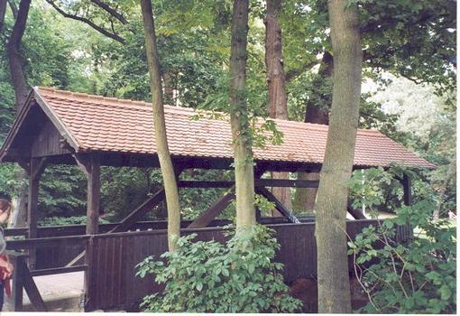 Pont couvert du Luisenpark