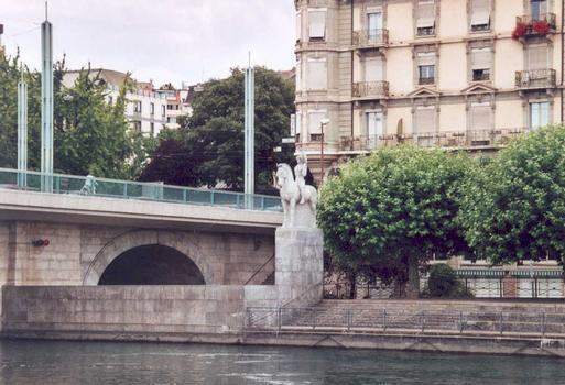 Pont de la Coulouvrenière, Geneva