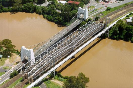 Jack Pesch Bridge, Walter Taylor Bridge & Albert Bridge, Brisbane