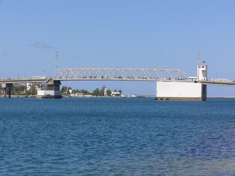 Klappbrücke, Bizerta, Tunesien