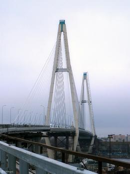 Neva River Bridge, Saint Petersburg