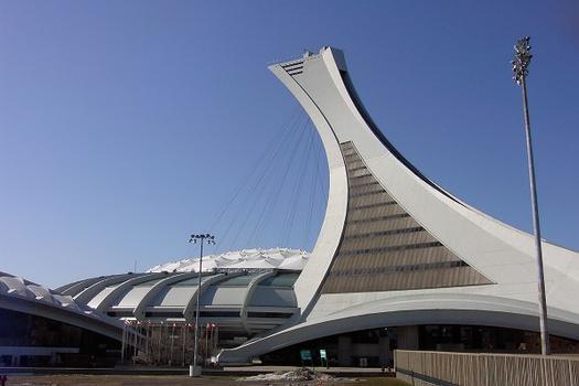 Olympisches Stadion und Turm in Montreal