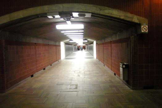Montreal Metro - Orange Line - Henri-Bourassa station