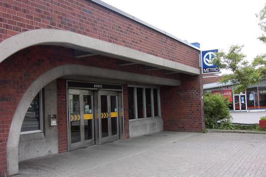Montreal Metro - Orange Line - Namur station