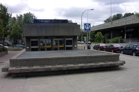 Montreal Metro - Orange Line - Lionel-Groulx station