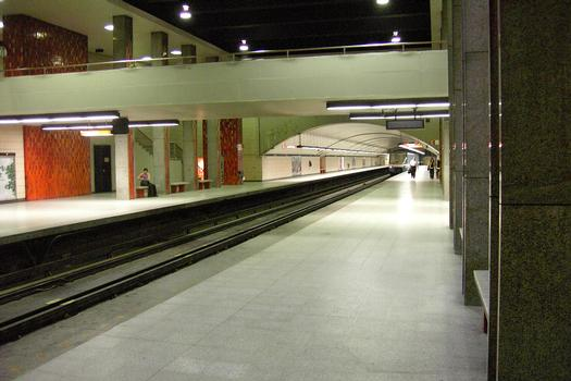 Montreal Metro - Orange Line - Rosemont station