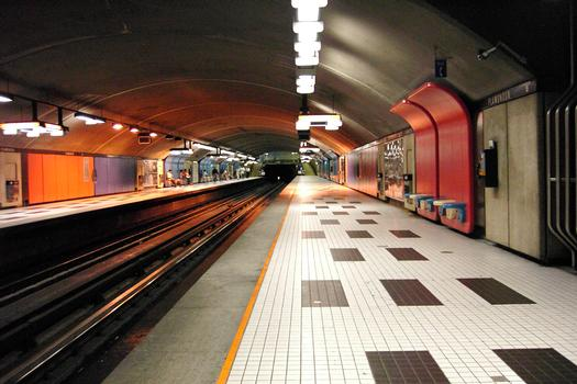 Montreal Metro - Orange Line - Plamondon station