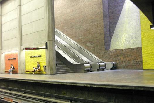 Montreal Metro - Orange Line - Place-Saint-Henri station