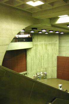 Métro von Montréal - Grüne Linie - Bahnhof Monk