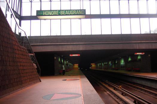 Métro von Montréal - Grüne Linie - Bahnhof Jolicoeur