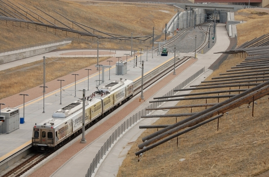 Denver International Airport Commuter Rail Station