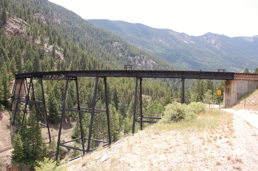 Devil's Gate Trestle - Part of the Georgetown Loop Railroad excursion train.