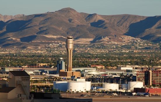 McCarran International Airport Air Traffic Control Tower