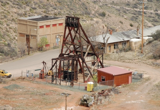 Audrey Shaft Headframe