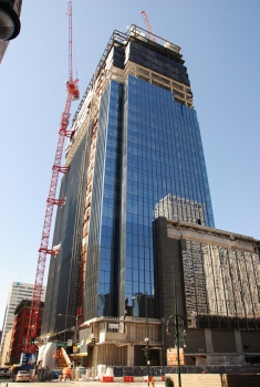 Block 162 under construction
