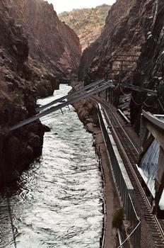 View of the hanging bridge