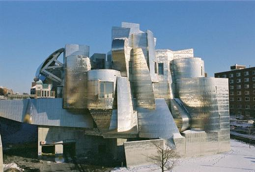View of the Weisman Museum