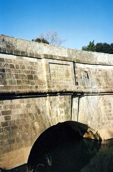 Canal du MidiRépudre-Kanalbrücke