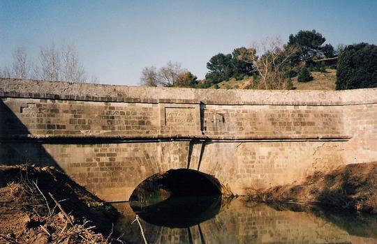Canal du Midi Répudre-Kanalbrücke