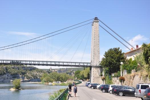 Hängebrücke Saint-Martin