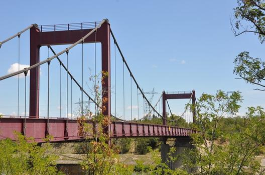 Hängebrücke Bollène