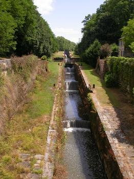 Canal de Lalinde – Schleusentreppe Tuilières