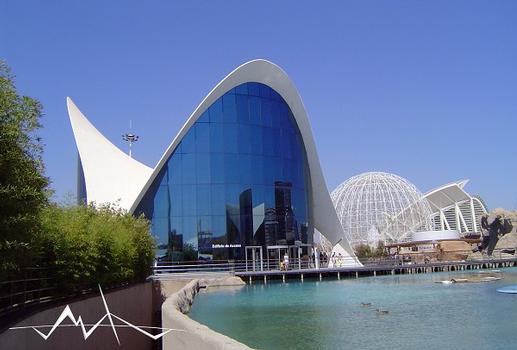 L'Oceanogràfic – L'Oceanogràfic - Empfangsgebäude