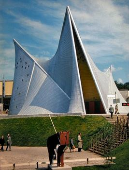 Expo 1958 - Pavillon Philips