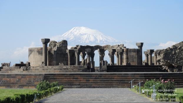 Kathedrale von Swartnoz / Etschmiadsin Armenien